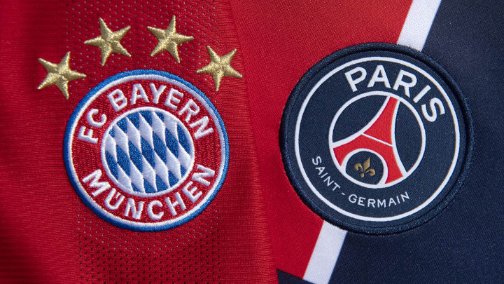 Bayern Munich face PSG in a rematch of last year's Champions League final