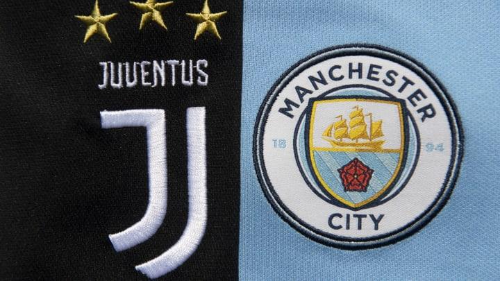 Juventus und Manchester City haben ihre Logos verändert.