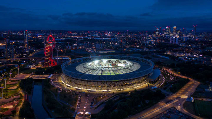 The London Stadium...
