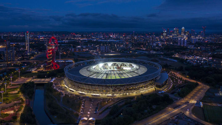 The London Stadium...