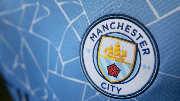 Ilustrasi logo Manchester City