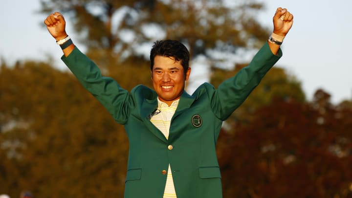 Hideki Matsuyama at The Masters - Final Round