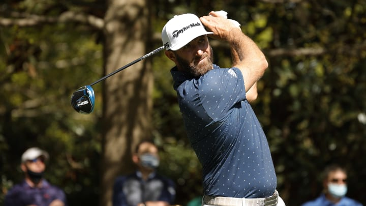 Dustin Johnson and Bryson DeChambeau Lead Jordan Spieth and Justin Thomas in odds to win the 2021 Masters.