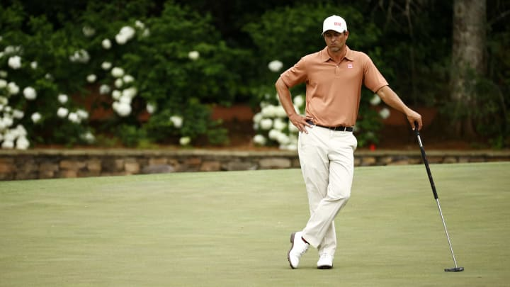 Adam Scott expects to do plenty of waiting at the PGA Championship.