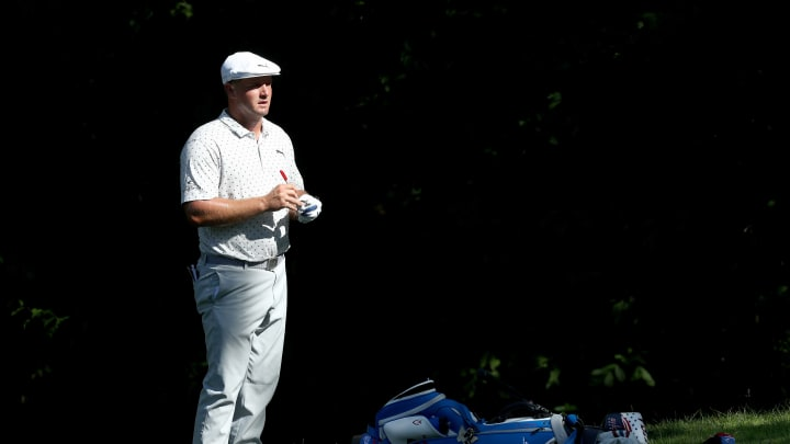 Bryson DeChambeau at The Memorial Tournament - Round Two