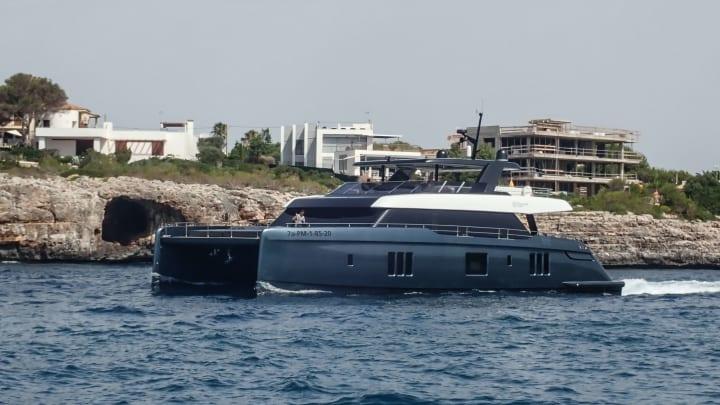 Rafa Nadal's superyacht.