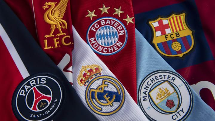 Les 18 clubs pressentis pour la Superligue européenne