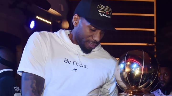 The Toronto Raptors Head To Wynn Las Vegas To Celebrate NBA Championship Win At XS Nightclub With