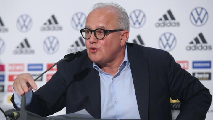 Der DFB um Präsident Fritz Keller will keine Trainer mit laufendem Vertrag abwerben