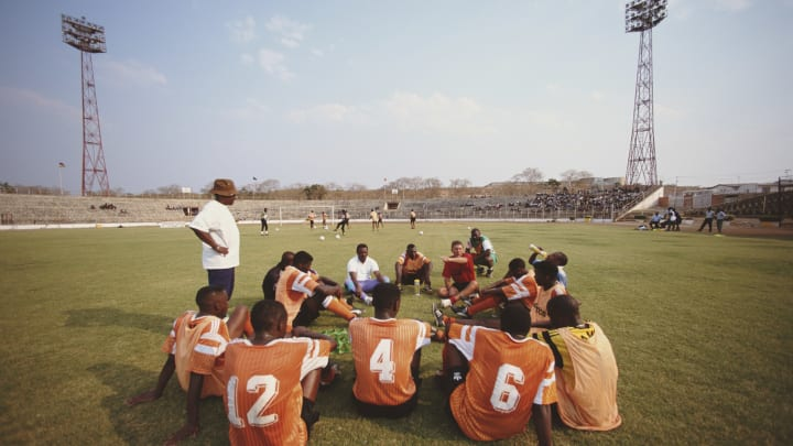 The Zambian team