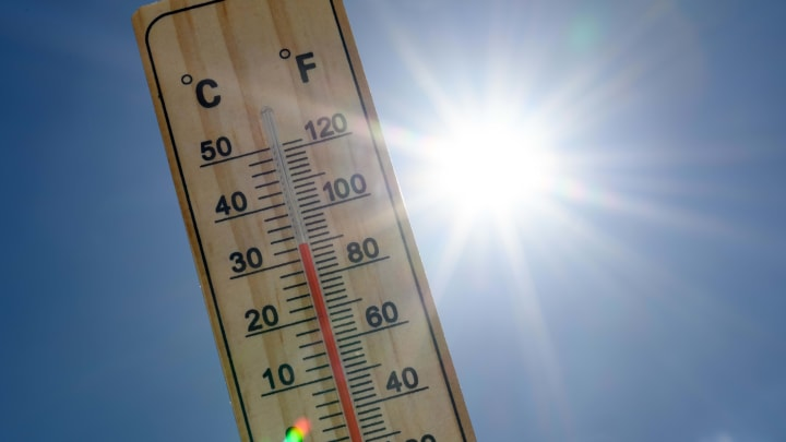 A thermometer showing an obscene temperature.