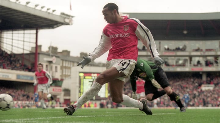 Thierry Henry enjoyed Boxing Day in 2000