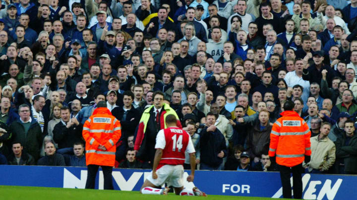 The north London derby is one of the most electric in England