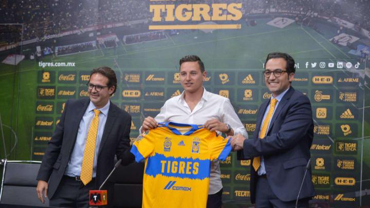 Antonio Sancho, Mauricio Culebro, Florian Thauvin