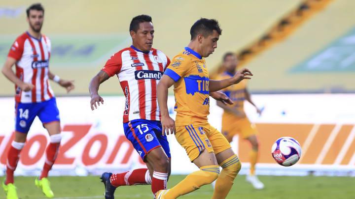Tigres UANL v Atletico San Luis - Torneo Guard1anes 2020 Liga MX
