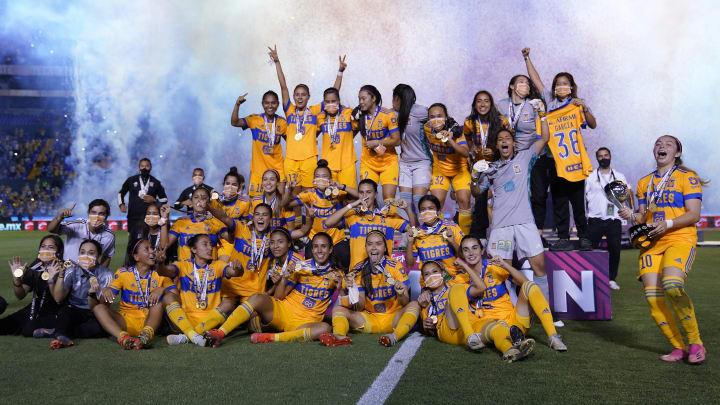 En el Torneo Guard1anes 2021, Tigres conquistó su cuarto título de la Liga MX Femenil.