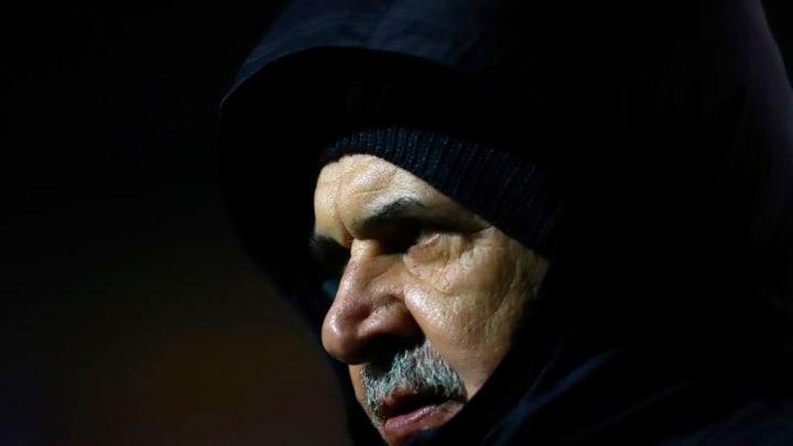 El entrenador Ricardo Ferretti.