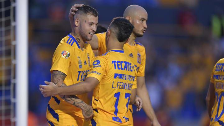 Tigres, junto a Toluca, son las mejores ofensivas del torneo hasta ahora, aunque el uruguayo Nicolás López es el máximo romperredes.