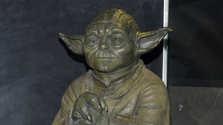 'Star Wars' memorabilia is going up for auction, along with props from other major franchises.