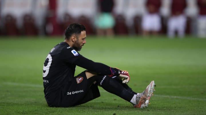 Salvatore Sirigu Torino Milan Goleada Série A