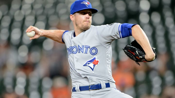 Toronto Blue Jays relief pitcher Ken Giles