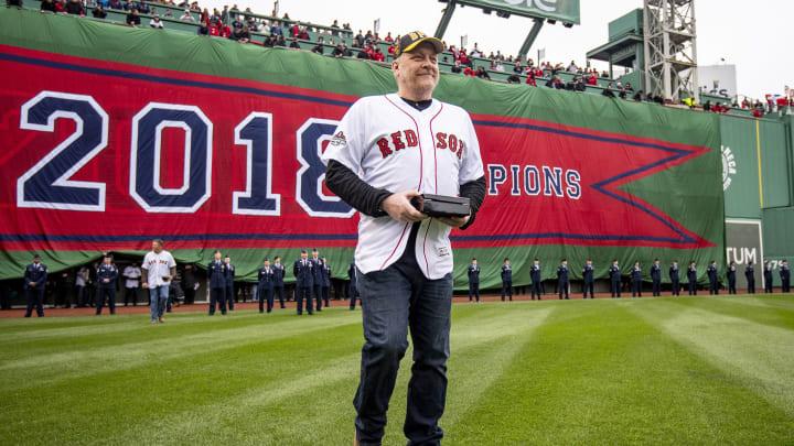 Curt Schilling, Toronto Blue Jays v Boston Red Sox