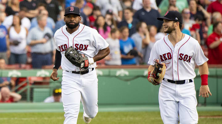 Jackie Bradley and Andrew Benintendi are running the show for the Boston Red Sox outfield