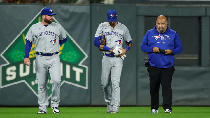 The Toronto Blue Jays received some positive news on Lourdes Gurriel's injury update after he left Thursday night's game early.
