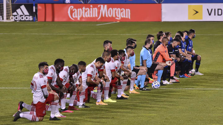 Toronto FC v Montreal Impact, Black Lives Matter
