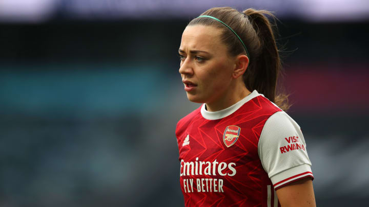 Katie McCabe has committed her future to Arsenal women