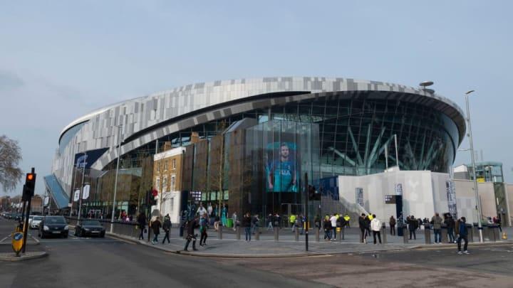 Exterior view of Tottenham Hotspur stadium