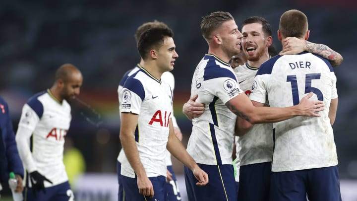 Spurs defended superbly against Arsenal