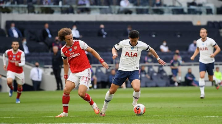David Luiz, Heung-Min Son