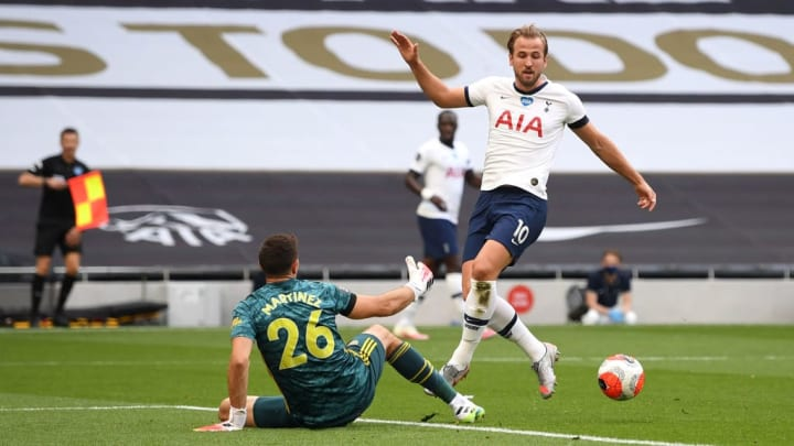 Harry Kane, Emiliano Martinez