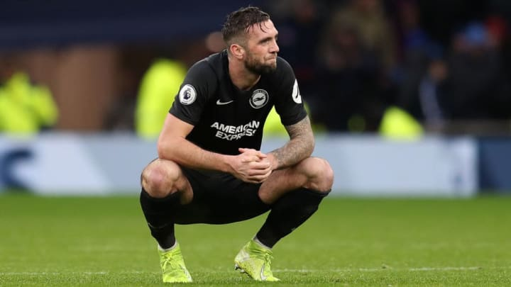 Shane Duffy has endured a difficult season at Brighton