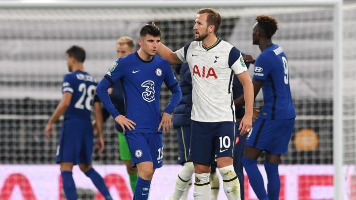 Purs Menang Adu Penalti di Tottenham Vs Chelsea : Piala Liga Inggris