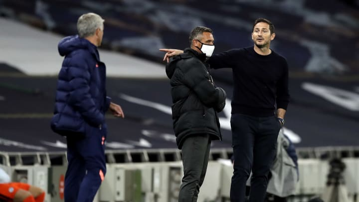 Lampard & Mourinho engaged in jibes during Carabao Cup tie