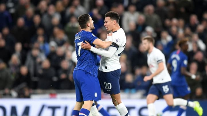 Tensions usually flare between Chelsea and Tottenham in this fierce rivalry.