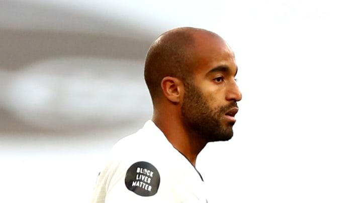 Lucas Moura is in favour under José Mourinho.
