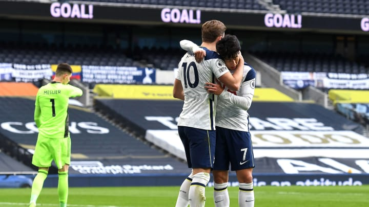 Kane and Son were both on the scoresheet for Spurs