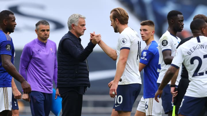 Mourinho has admitted Tottenham are in the market for a new forward
