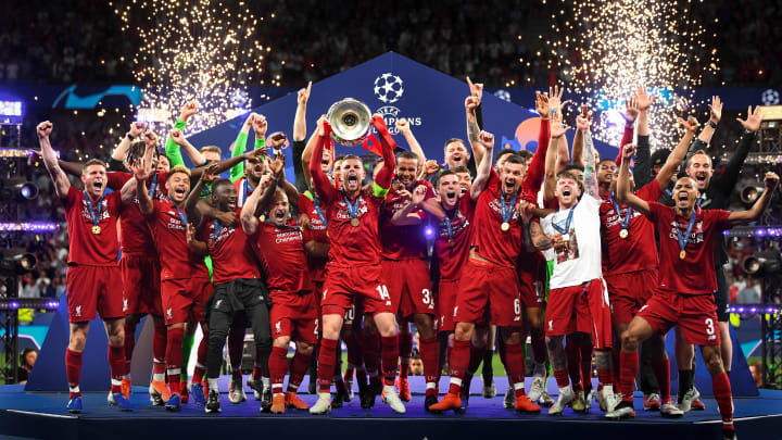 Liverpool were crowned European champions back in 2019