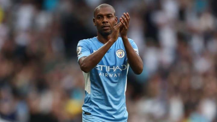 Fernandinho Manchester City Premier League