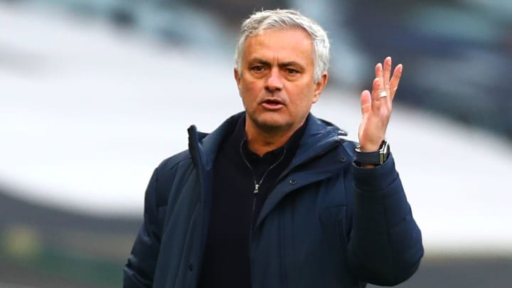 Mourinho will be hoping his spell in charge of Roma features high on this list