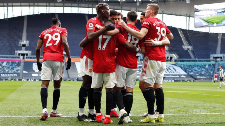 Fred Paul Pogba Bruno Fernandes Scott McTominay Manchester United