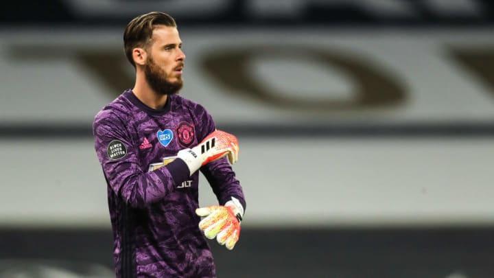 David de Gea made a costly error against Tottenham on Friday night