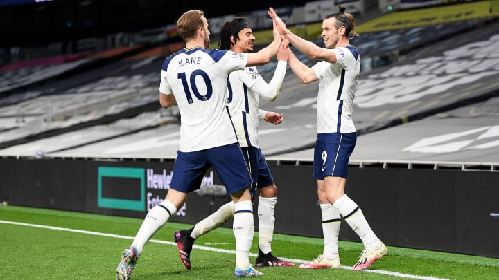 Gareth Bale stole the show on Sunday, but Spurs' midfield were influential