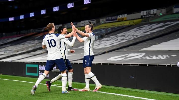 Gareth Bale, Dele Alli, Harry Kane