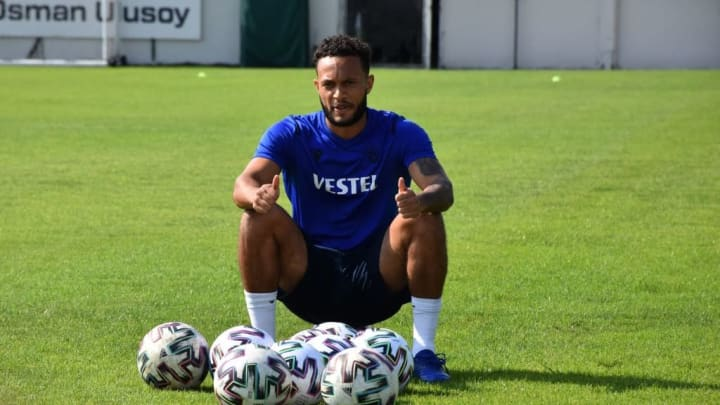 Trabzonspor's new transfer Lewis Baker
