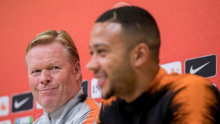 Memphis Depay and Ronald Koeman have worked together before